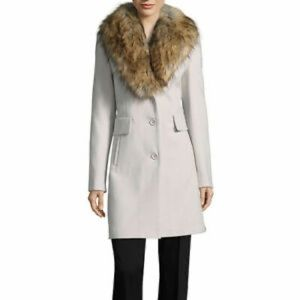 Worthington Faux Fur Shawl Collar Coat, Size L